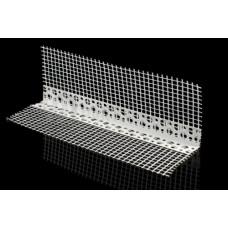 Профиль-капельник ПВХ с армирующей сеткой 10*10*2000 мм, (упак-25 шт) LIKOV