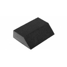Губка шлифовальная угловая Р 80, 100*68*42*26 мм, средняя жесткость, ЗУБР МАСТЕР