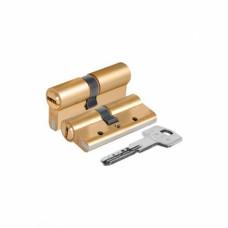 Профильный цилиндр 40*40 мм RIKO, ПЕРФОКЛЮЧ/5 ключей, (упак-50 шт) АТ