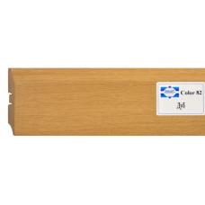 Плинтус напольный МДФ SmartProfile COLOR 82*2400 мм, ДУБ, (упак-10 шт)