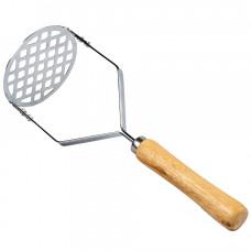 Картофелемялка с деревянной ручкой МУЛЬТИДОМ