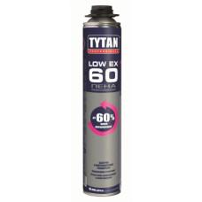 Пена профессиональная TYTAN Professional LOW EXPANSION 60, 750 ml, (упак-12/624 шт)