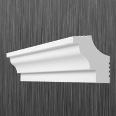 Плинтус декоративный потолочный C- 30, L=2000 мм, БЕЛЫЙ, (упак-180 шт)