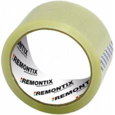 Скотч упаковочный, 50 мм* 66 м, 40 мкр, прозрачный, (упак-36 шт) REMONTIX