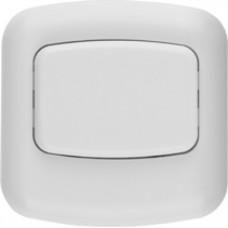 Кнопка для звонка 220 В, БЕЛАЯ, СВЕТОЗАР