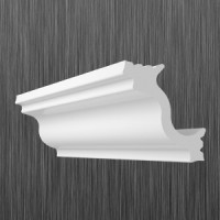 Плинтус декоративный потолочный M- 40, L=2000 мм, БЕЛЫЙ, (упак-150 шт)