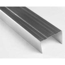 Профиль стеновой ПСН  75*40*3000/0,6 мм, направляющий, (упак-12/336 шт)
