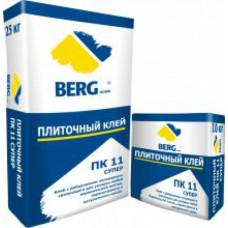 Клей плиточный ПК11 СУПЕР, 25 кг, (упак-48 шт) BERGhome