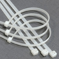 Хомуты нейлоновые БЕЛЫЕ, 5,0*300 мм, (упак-100 шт) GL