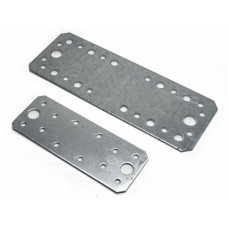 Крепёжная пластина KP-180*65*2,0 мм, (упак-20/25/100 шт)