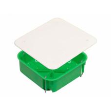 Коробка распределительная 106*106* 45 мм, КР1201, IP55, для полых стен, металлические лапки, HEGEL
