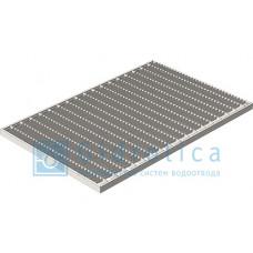Решетка Step PRO 390*590 мм, стальная ячеистая оцинкованная