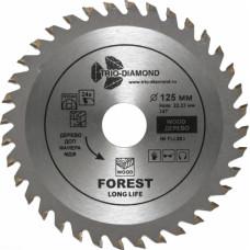 Диск пильный по дереву 125*36Т*22,2, TRIO-DIAMOND