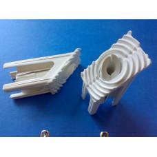 Угловой соединитель-усилитель двери под металл 50*40 мм, (упак- 80 шт/200 шт)