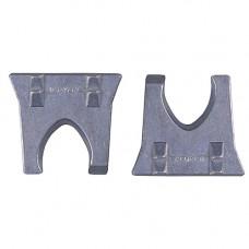 Клинья металлические, плоские, набор 2 шт/5,6 мм, (упак-20 наб) STAYER
