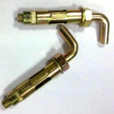 Анкерный болт HL 12* 70, Г-образный крюк, (упак-50/200 шт)