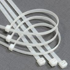 Хомуты нейлоновые БЕЛЫЕ, 4,0*200 мм, (упак-100 шт) GL