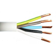 Провод соединительный ПВС 5*1,5 кв.мм, (упак-100 пог.м)