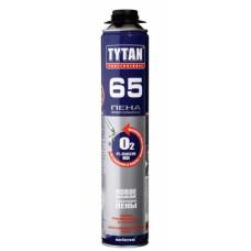 Пена профессиональная TYTAN Professional O2, 65L 750 ml+ЛЕТО, (упак-12/624 шт)
