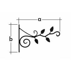 Кронштейн декоративный для кашпо UK5, ВЕТКА, (упак-12 шт)
