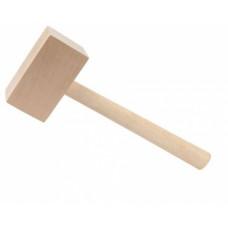 Киянка  600 г, деревянная, прямоугольная, (упак-24 шт)