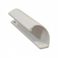 Балконная ручка, АЛЮМИНИЕВАЯ, БЕЛАЯ, (упак-100 шт)