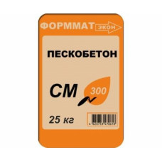 Смесь сухая строительная СМ300, 25 кг (упак- 48 шт) ФОРММАТЭКОН