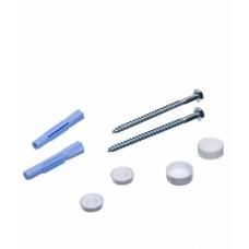 Крепление для унитаза-втулка с колпачком пластмассовые, (упак-500 шт) РД