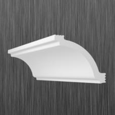 Плинтус декоративный потолочный A- 70, L=2000 мм, БЕЛЫЙ, (упак-75 шт)
