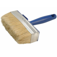 Кисть ракля 30*100 мм, DECOR 760-100,  натуральная щетина, пластмассовая ручка, (упак-12 шт)
