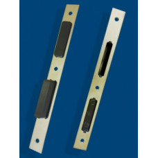 Ответная планка под фурнитурный паз 13 мм, для V100.200.19/V101.150.16, (упак-10 шт)