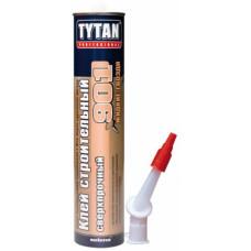 Клей TYTAN Professional №901, строительный, сверхпрочный, 380 гр, БЕЖЕВЫЙ, (упак-12 шт)