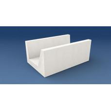 Блок D500 U-образный, 500*400*200 мм, (упак-30 шт) РАС
