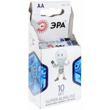 Батарейка ЭРА LR06-10BL, (упак-10 шт) КИТАЙ