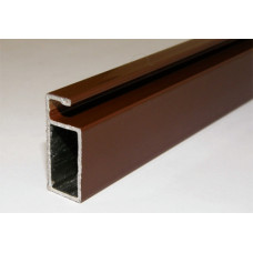 Рамный профиль, L=6000 мм, КОРИЧНЕВЫЙ, (упак-120 пог.м)