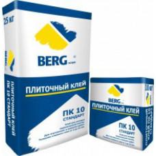 Клей плиточный ПК10  СТАНДАРТ, 25 кг, (упак-48 шт) BERGhome СП