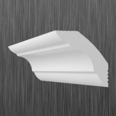 Плинтус декоративный потолочный K- 45, L=2000 мм, БЕЛЫЙ, (упак-96/120 шт)