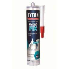 Клей TYTAN Professional HYDRO Fix, монтажный, ПРОЗРАЧНЫЙ, 310 мл, (упак-12 шт)