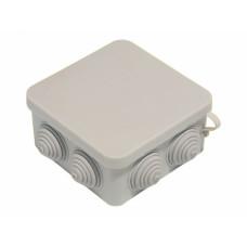 Коробка распределительная 100*100* 50 мм, КР2604, IP55, гермоввод, HEGEL