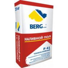 Наливной пол Р41 тонкослойный, 25 кг, (упак-48 шт) BERGhome СП