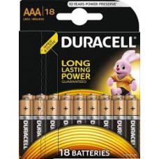 Батарейка DURACELL LR03-18 BL , BASIC, (упак-18 шт) БЕЛЬГИЯ