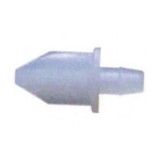 Крепление торца, ДЛИННЫЙ ФИКСАТОР, пластиковое, БЕЛЫЙ, (упак-672 шт) BAVIERA