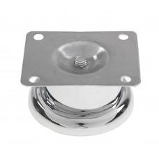Опора для ММ 50*100 мм, круглая, ХРОМ, (упак-100 шт) IG