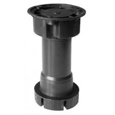 Опора для КМ 100-130 мм, регулируемая/пластик/НЕРАЗБОРНАЯ/без клипсы, БЕЛАЯ, (упак-250 шт) IG