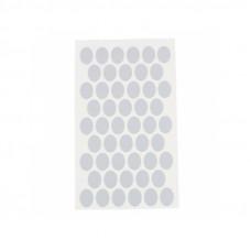 Заглушка D14 самоклеющаяся, СЕРЕБРО, упаковка-54 шт
