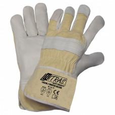 Перчатки WIENTER DELUX, комбинированные, кожаные, утепленные, р.11, (упак-12 пар) NITRAS ГЕРМАНИЯ