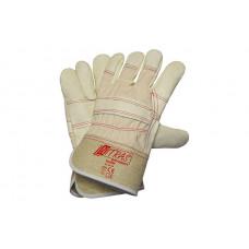 Перчатки 1410TOP, комбинированные с фурнитурной кожей, р.10, (упак-12 пар) NITRAS ГЕРМАНИЯ