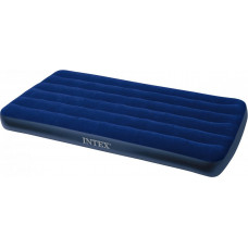 Кровать флок CLASSIC DOWNY, 1520*2030*220 мм, СИНИЙ 66767, INTEX