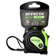 Рулетка  5 м*25 мм, EFFECTA BASIC, с магнитом, автостопом, нейлон
