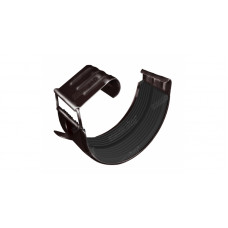 Соединитель желоба Optima D125 мм, RAL8017 шоколад